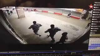Ограбление Бинбанка в Москве реальная съемка момента