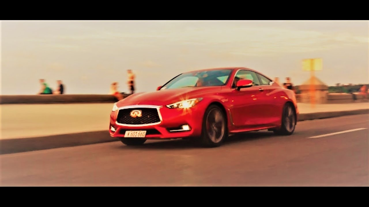 Infiniti Q60 in Cuba (first American made vehicle in 58 years) - YouTube