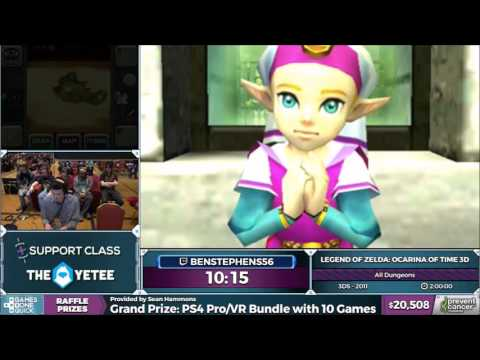 Make AGDQ 2017 - Zelda: Ocarina of Time 3D - All Dungeons Speedrun in 1:57:23 by benstephens56 Images