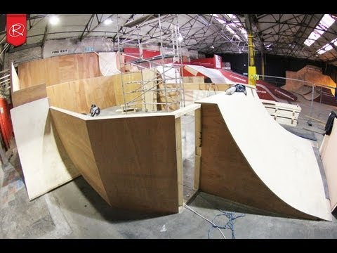 Rampworx Skatepark Foam Pit Update 2