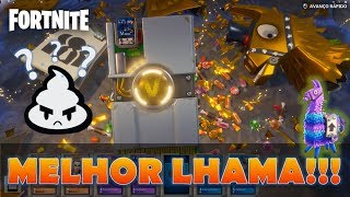 What's the BEST LLAMA??? Opening SUPER Lhama full of people! -Fortnite Save the World
