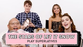 Kiernan Shipka and the Cast of 'Let It Snow' Play Superlatives | Superlatives