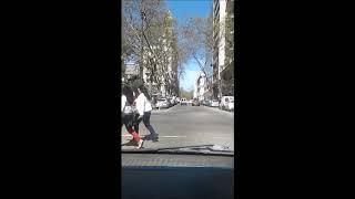 viaje  en auto en ciudad.Videos por que si,nomas!!!