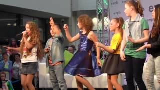 Mali Giganci mini koncert Warszawa ARKADIA 10.05.2015