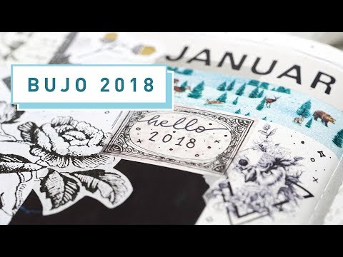 [ Bullet Journal ] Bujo Setup 2018 & Januar | nuuna | Long Version