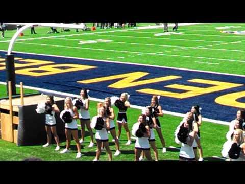 Nevada Cheerleaders (very short clip) 09/01/2012 Cal Bears new stadium opening day