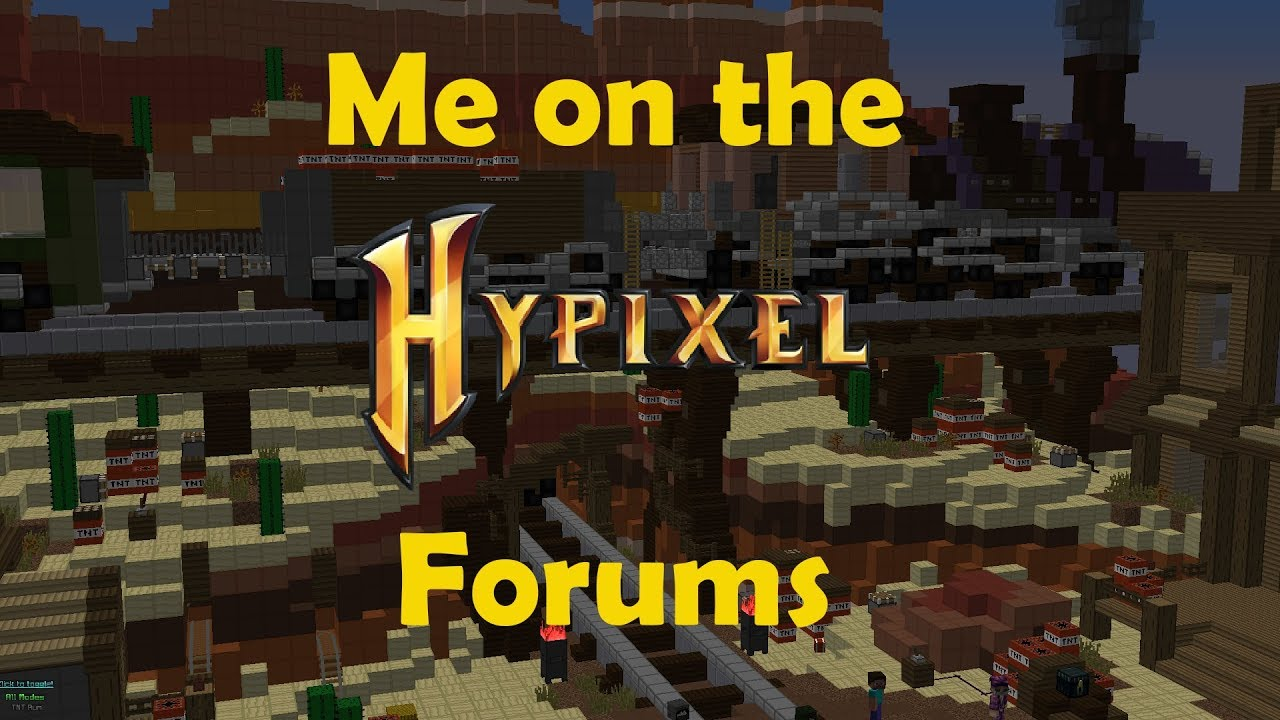 Me when I like a thread on the hypixel forums [SKIT]