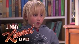 Jimmy Kimmel Talks to Kids  What's the Difference Between a Boy & a Girl?