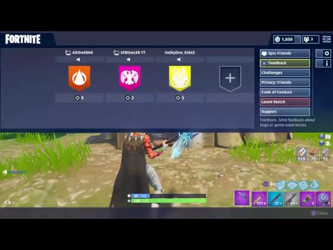 Fortnite ft AKtheKING And SebTheLeb
