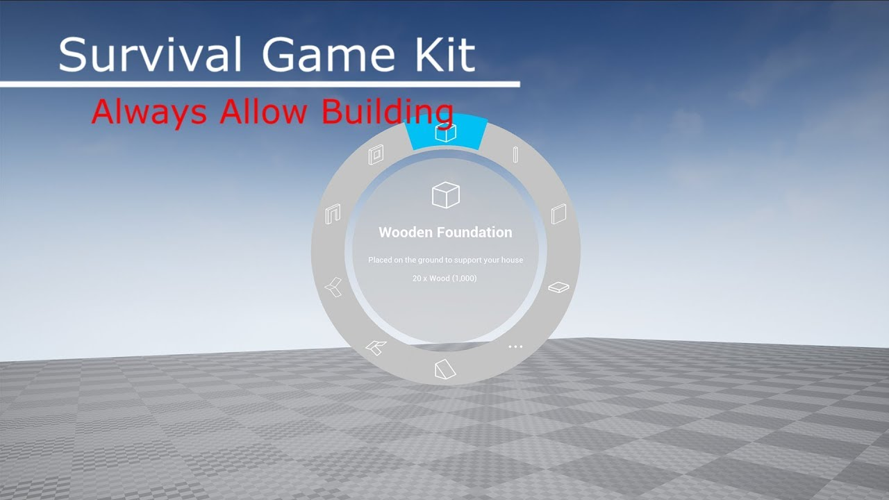 Survival Game Kit (Always Allow Building)