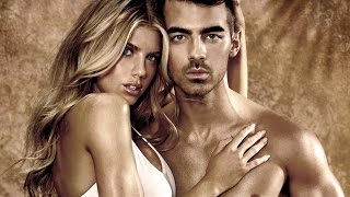 Joe Jonas + Charlotte McKinney for GUESS Underwear Spring '17 Campaign Preview I