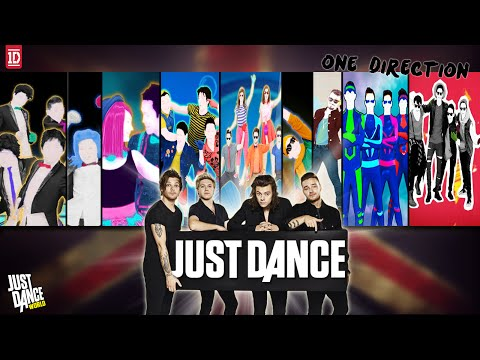 Just Dance | One Direction | JD4 - JD2016 | History In Just Dance