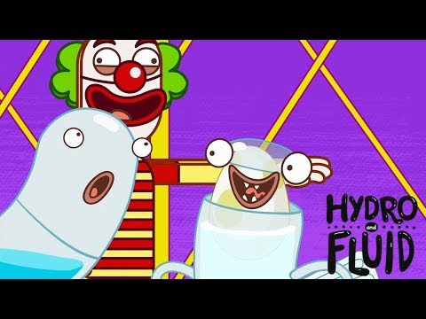 HYDRO and FLUID | At the Circus | HD Full Episodes | Funny Cartoons for Children