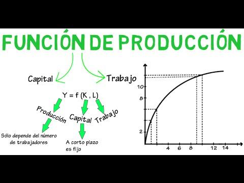 Función de producción, costos fijos y variables | Cap. 15 - Microeconomía