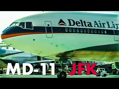Back When The MD11 Was Popular At JFK