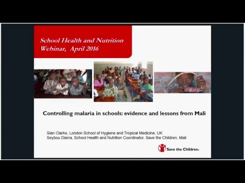 Controlling Malaria in Schools - Evidence and lessons from Mali -  April 2016