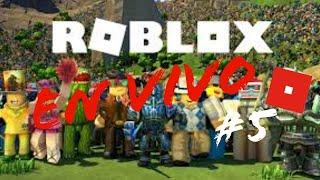Jugando a Roblox en directo con agatha