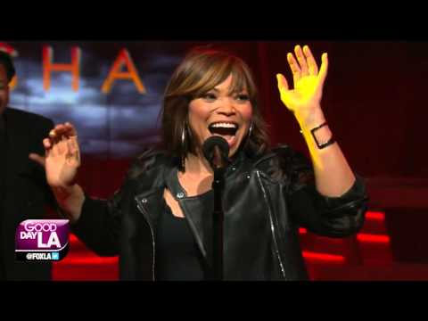 Tisha Campbell performs live on Good Day LA