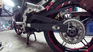 Installing Mamaw sprocket in my Yamaha Sniper 150 [] episode 3
