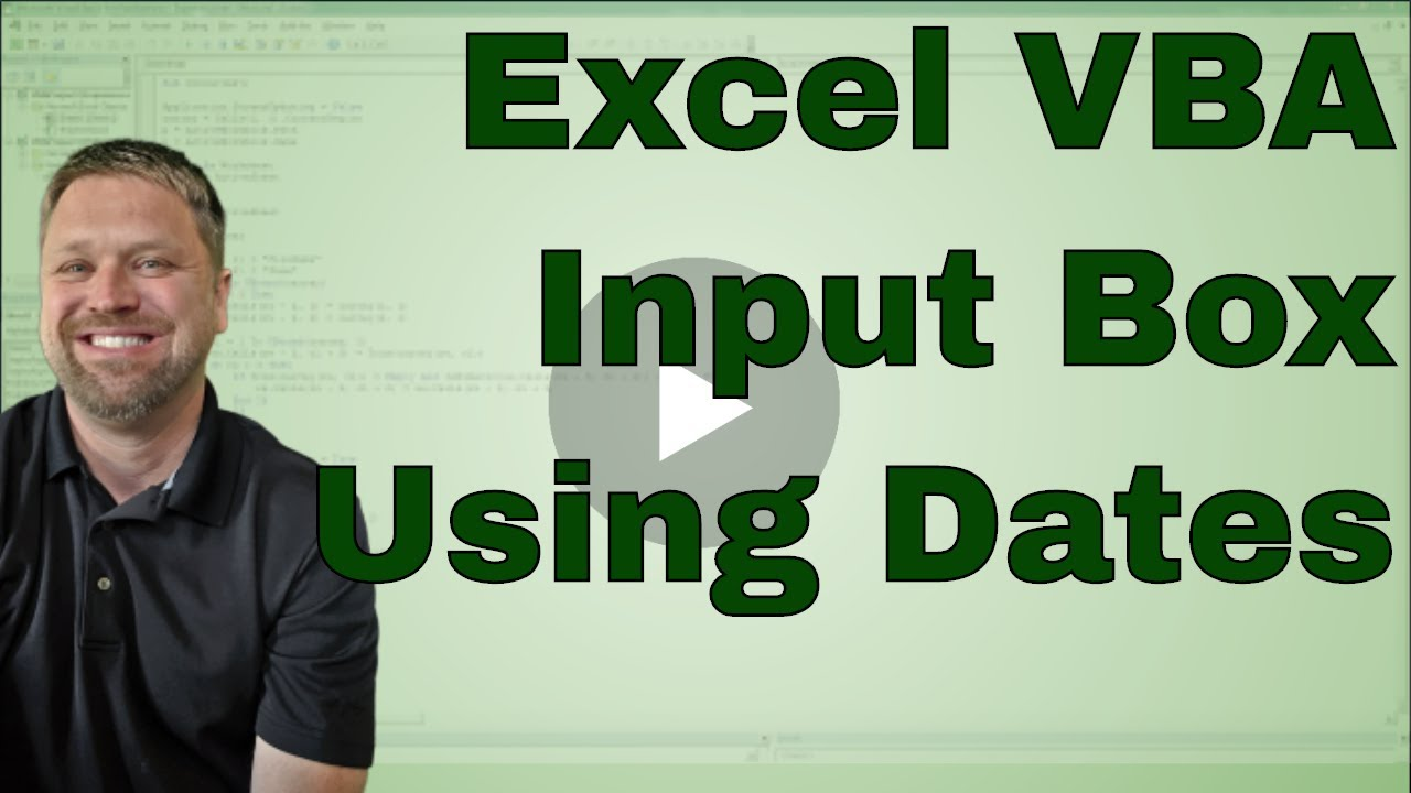 Sample excel input date text box