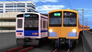 MMD鉄道で西武線