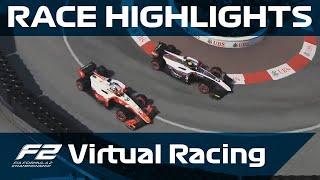 F2 Virtual Racing, Round 3 Highlights | Monaco