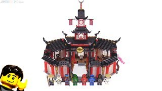 lEGO Ninjago Monastery of Spinjitzu review! 70670