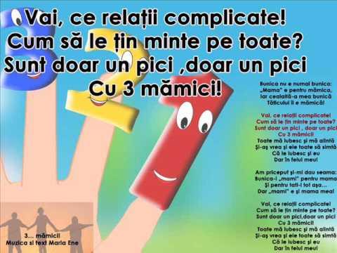 3… MĂMICI! – Cantece pentru copii in limba romana