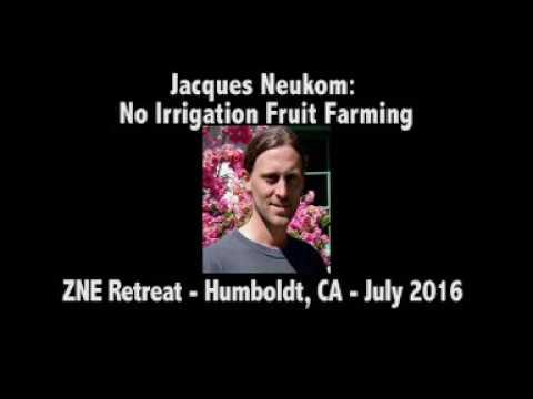 Jacques Neukom: No Irrigation Fruit Farming (ZNE Retreat 2016)
