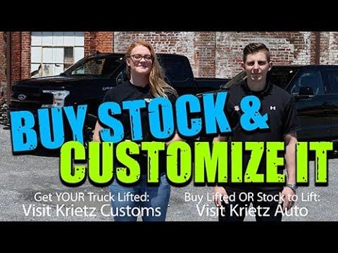 Transform A Stock Truck!