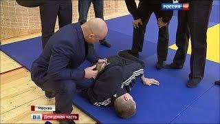 Центр служебной и боевой подготовки полиции открылся в Москве