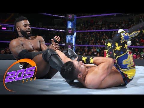 Cedric Alexander vs. TJP - Cruiserweight Title Tournament Quarterfinals: WWE 205 Live, Feb. 27, 2018