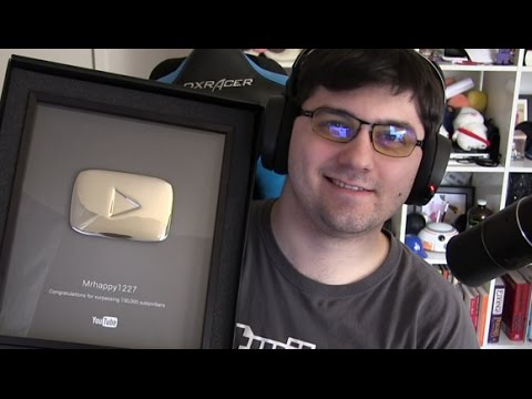 Got my Silver Play Button: Thanks for 100k Subs!