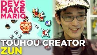 TOUHOU Creator ZUN Makes a Super Mario Maker Level – Devs Make Mario