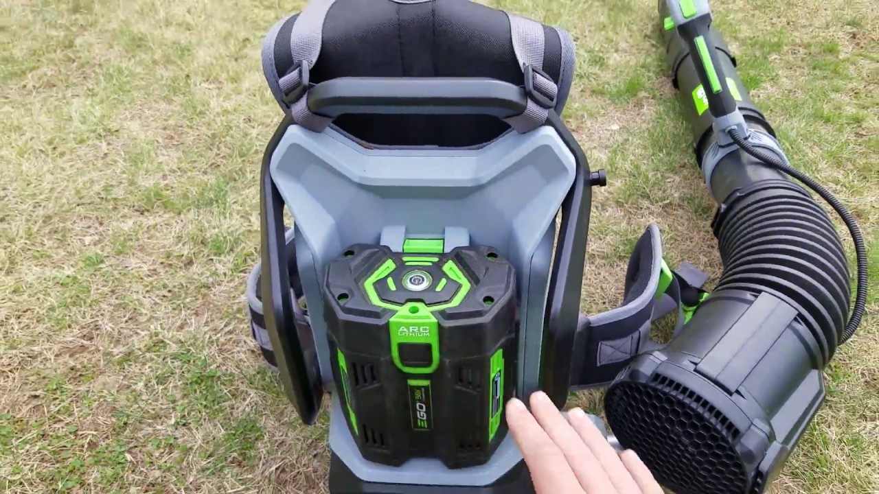 8ca7010be1 Ego 56 Volt Backpack Blower Review - YouTube