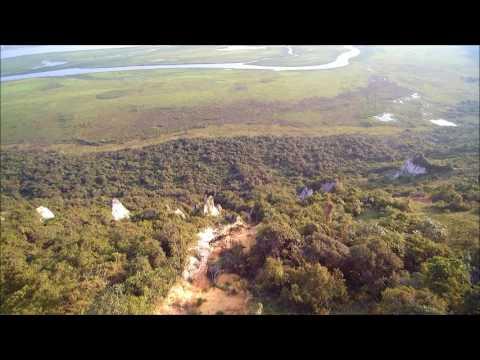drone video near Brazzaville Republic of Congo