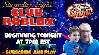 Saturday Night Club Roblox Stream 🎉 Subscribe and Play With Us!
