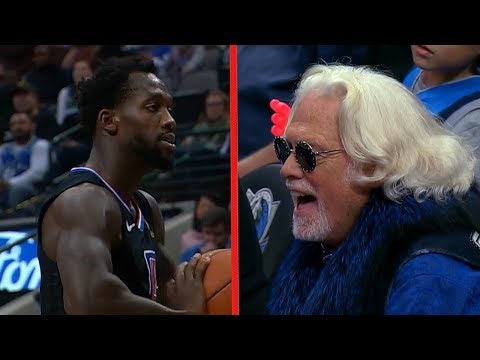 Patrick Beverley Gets Ejected For Throwing Ball at Mavs Fan - Clippers vs Mavericks | Dec 2, 2018