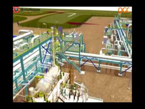 QGC Central Processing Plant (CPP) animation