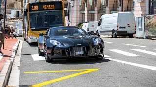Supercars in Monaco 2018 - VOL. 8 (ONE-77, Gemballa 650S, Huracan Performante, 911R)