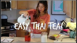 How To Make Thai Iced Tea | House Of X Tia