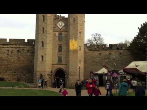 Warwick Castle (A Brief Visual Tour), Warwickshire, United Kingdom