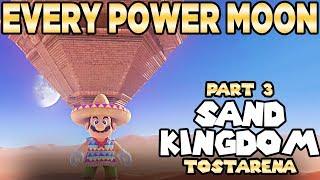 Every Power Moon in Super Mario Odyssey Part 3 - Sand Kingdom Tostarena | Austin John Plays