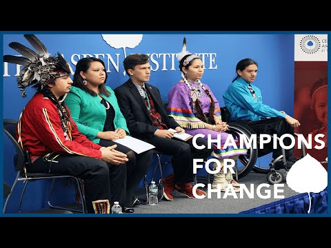 Center for Native American Youth Presents the 2016 Class of Champions for Change