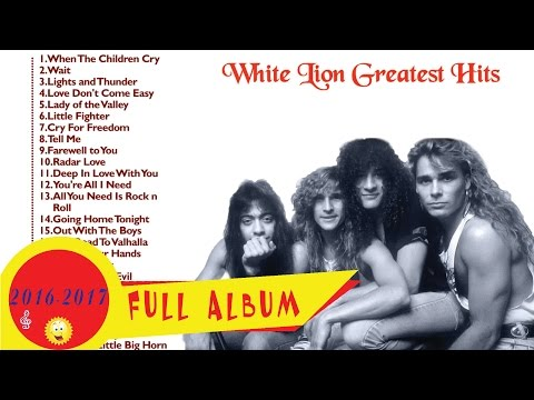 White Lion Greatest Hits | White Lion Collections (2016 - 2017)