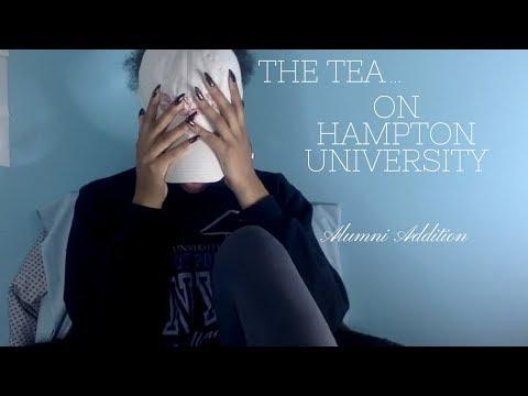 The Tea on Hampton University- Alumni Addition