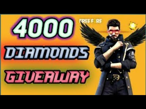 4000 diamonds giveaway redeem codes - YouTube