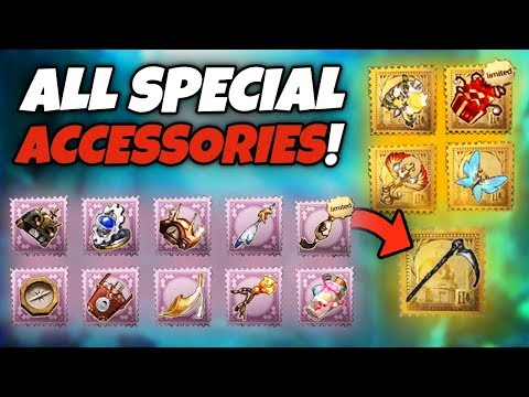 All Special Accessories & Special Effects Pt  3 - Identity V - YouTube