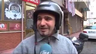 Kasksız çalışmayan motoru Samsun'lu bir Türk icad etti     YouTube