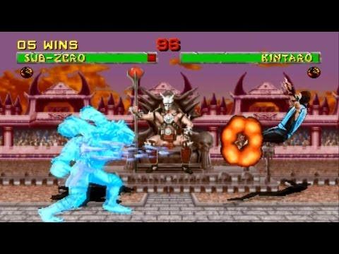 Mortal Kombat 2 arcade Sub Zero Gameplay Playthrough Longplay